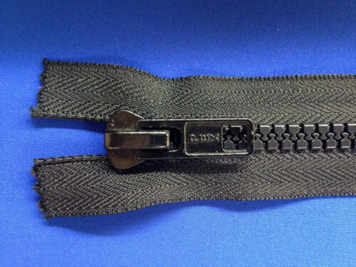 """Chiusura con cerniera fine YKK Navy 17,5 cm 7 /""""Peso 3 dispositivo di scorrimento in Metallo Pesante Heavy Duty"""