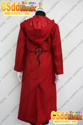 Fullmetal Alchemist Edward Elric Cosplay Costume outfit