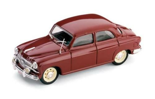 Fiat 1400B  Polizia Stradale  1956 (Brumm 1 43   R307)