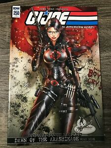 IDW: G.I. JOE: A REAL AMERICAN HERO!: ISSUE #250: NM CONDITION: BOMBSHELL RE-CVR