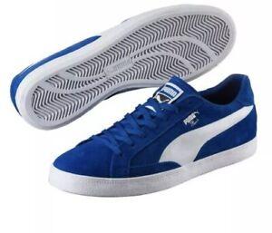 Puma White TRUE BLUE Match Vulc 2 | eBay