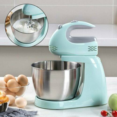 150W 220V Stand Mixer Cake Egg Food Mixing Bowl Beater Dough Electric Blender