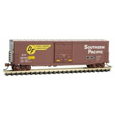 MICRO-TRAINS MTL 180 00 171 SOUTHERN PACIFIC 50FT STD BOX CAR N SCALE RD# 651485