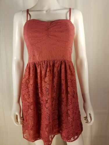 American Eagle Womans Size M 6 8 Dress Lace Halter