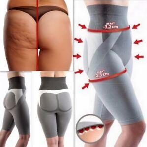b0205313528 Image is loading Body-Leg-Slimming-leggings-shorts-Firming-Fat-Burning-