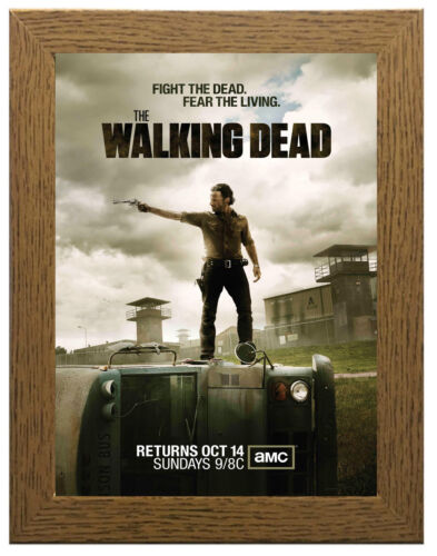 The Walking Dead TV Show Poster or Canvas Art Print A3 A4 Sizes