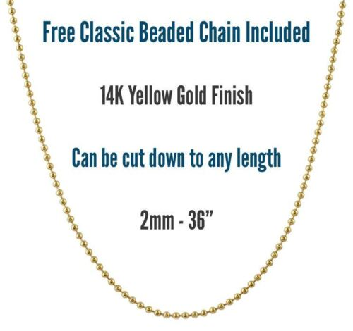 Mens 14K Gold Finish .925 Silver New York Liberty Dog Tag Pendant Free Chain New