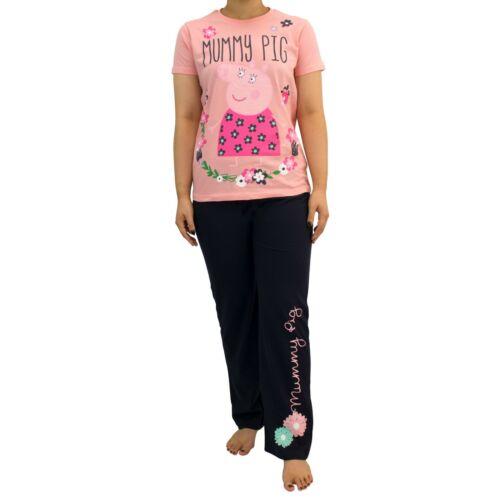 Womens Mummy Pig PJsPeppa Pig PyjamasMummy Pig Pyjama Set