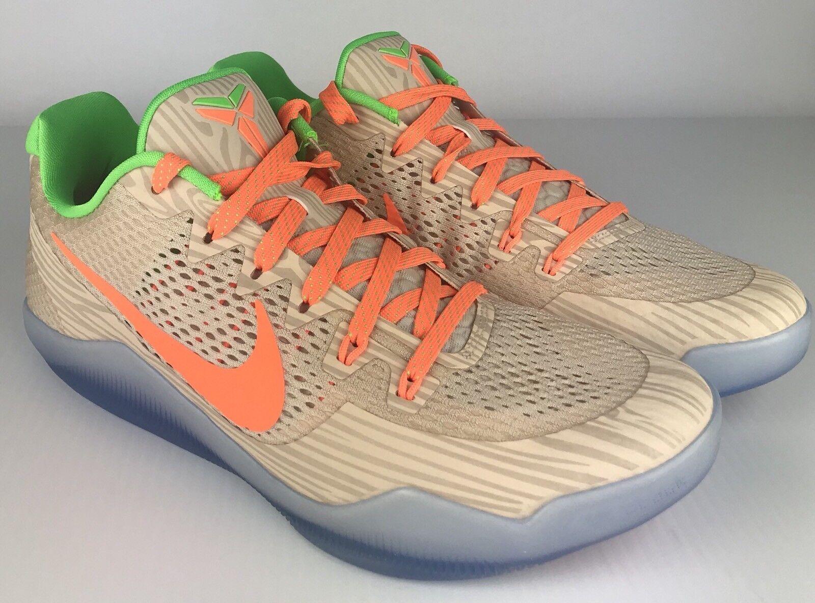 Nike Kobe XI Peach Jam Promo 'Peach Jam' - 856852-282 Goat - SZ 12.5 - Goat 856852-282 Shoe 2a8672
