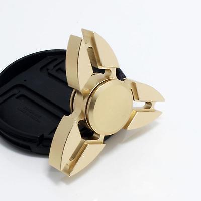 Tri Fidget Hand Spinner Triangle Metal Finger Focus Toy EDC Focus ADHD Autism