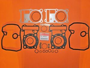 HONDA-VT-600-C-SHADOW-1993-O-E-GENUINE-CYLINDER-TOP-GASKET-SET-KIT-06111-MZ8-799