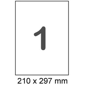 300-Etiketten-A4-selbstklebendes-Papier-210-x-297-mm-Format-wie-Herma-4428-4631