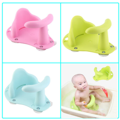 Baby Bath Tub Ring Seat Infant Child Toddler Kids Anti Slip Safety Chair NV