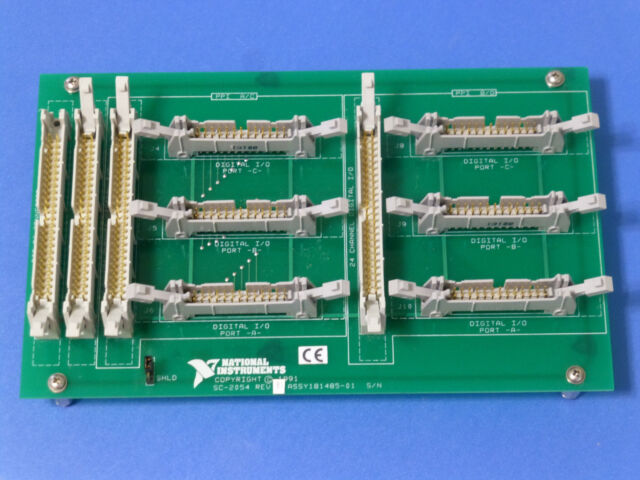 National Instruments SC-2054 Cable Adapter Board / NI DAQ Accessory