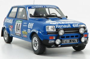 Esc. 1//18 Coche Rally RENAULT 5 ALPINE  #4 Rally Bandama 1978 J RAGNOTTI