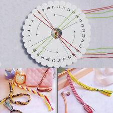 2PCS DIY Round Kumihimo Disc/Disk Braiding Plate Beading Cord
