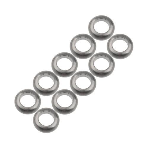 Titanium M6 Concave Convex Screws Washer SRAM Avid BB5 BB7 Brake Disc Ti Gaskets