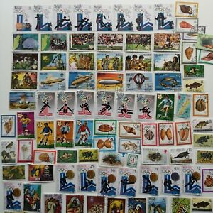 470-Different-Belize-Stamp-Collection