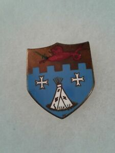 Authentic-WWII-US-Army-12th-Infantry-Regiment-DI-DUI-Unit-Crest-Insignia