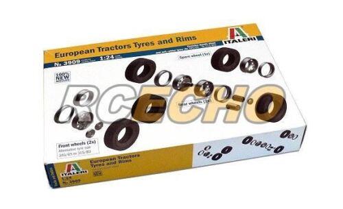 ITALERI Truck /& Trailers Model 1//24 European Tractors Tyres and Rims 3909 T3909