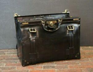Luxury-Black-Bridle-Leather-Gladstone-Bag-By-Swaine-Adeney