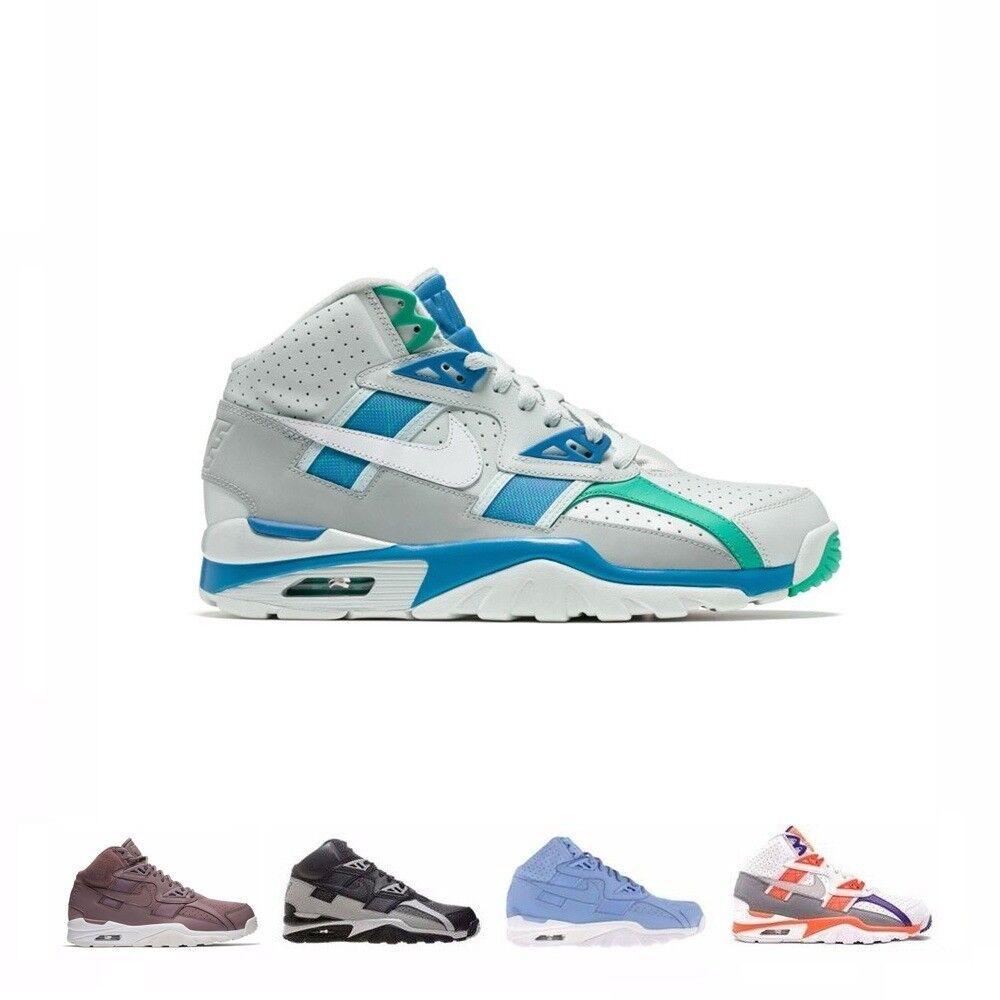 Nike air trainer sc alta delle scarpe da uomo 302346-106 302346-401 302346-201 bianco / luce zen grigio - arancione, di colore grigio / nero medio, luce blu / azzurro bianco, grigio grigio / grigio / bianco, blu, grigio, grigio, dell'orbita