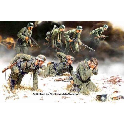 GERMAN PANZERGRENADIERS 7 FIG WWII 1//35 MASTER BOX 3518 DE