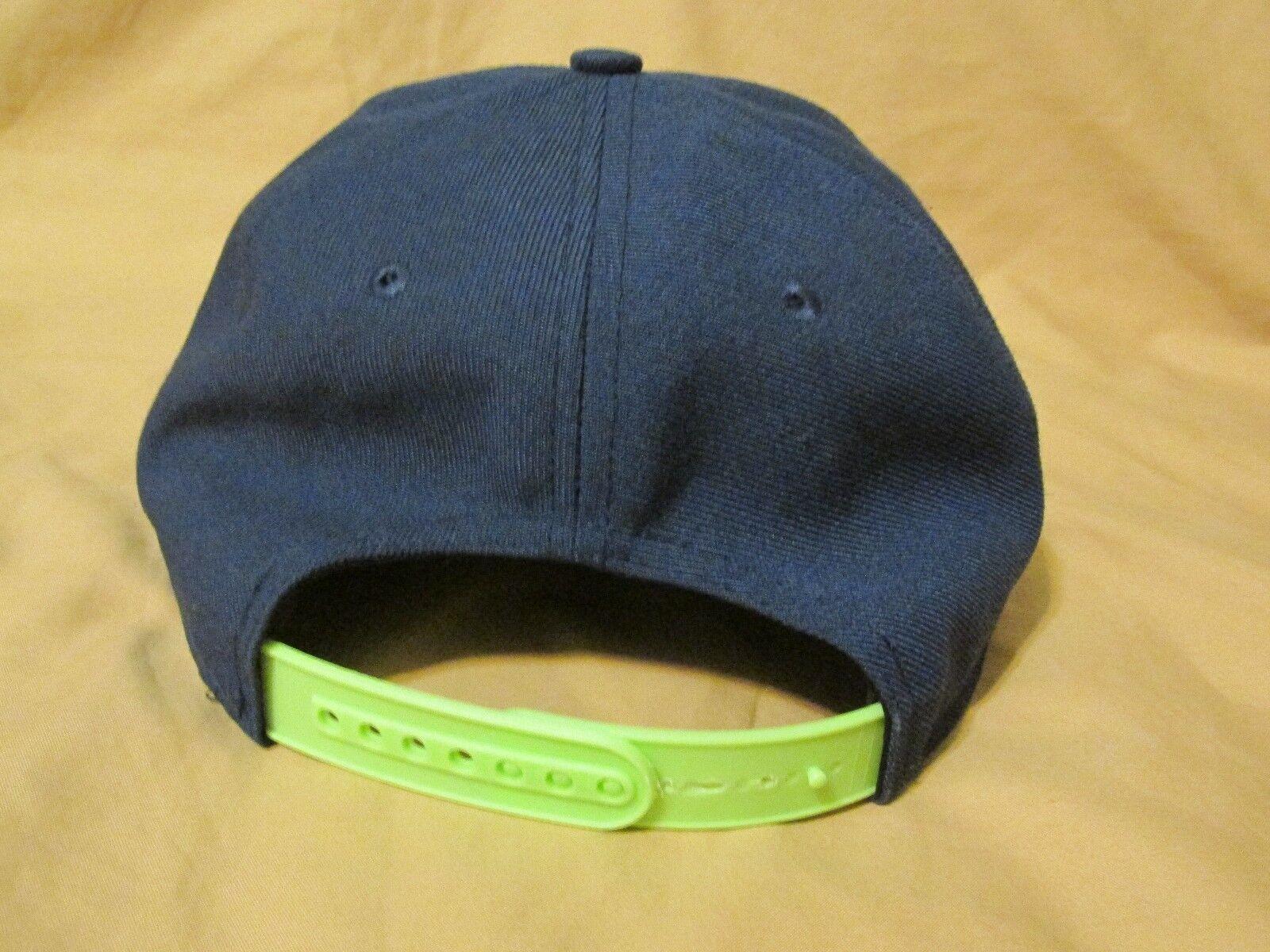 Men's Nike True Snapback Baseball Cap Hat Seattle… - image 3