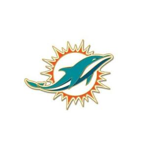 Miami-Dolphins-Logo-Pin-NFL-Football-Metall-Wappen-Abzeichen-Crest-Badge