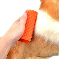 1pc 4 Sides Rubber Hair Remover Easy Remove Pet Cat Dog Puppy Hair Fur Brush