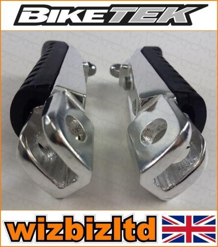 Biketek Rubber OEM Replacement Front Footpegs Kawasaki ER6 F//N 2006-2007 FRK701