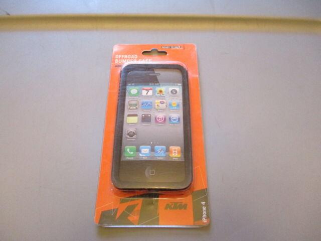 uk availability 5c4f4 afa1e KTM iPhone 4 or 4s Rubber Bumper Phone Case 3PW1474800
