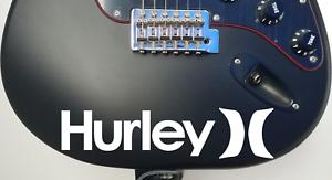 "8/"" Hurley Surfing Skateboarding Die-Cut Vinyl Decal Stickers     20 Colors Avbl"