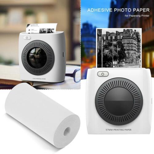 5 Roll Printing Sticker Paper Adhesive Pocket Photo Paper for Paperang Printer
