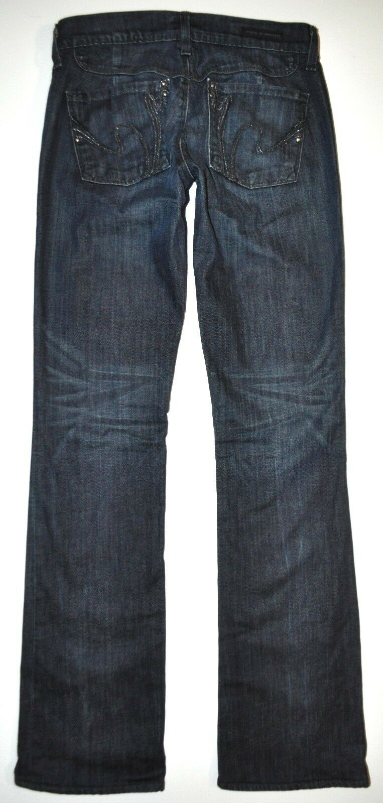 Citizens of Humanity COH Dark bluee Kelly Bootcut Jeans 26 X 33.5 Long Stretch