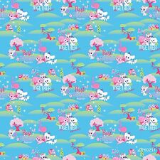 Lobsters on Putty Magical Ocean 100/% Cotton Fabric Children Dressmaking