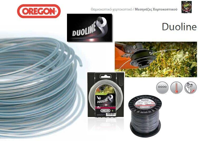 Oregon 533742 Duoline 3.5mm x 40m Strimmer Brushcutter Trimmer Line