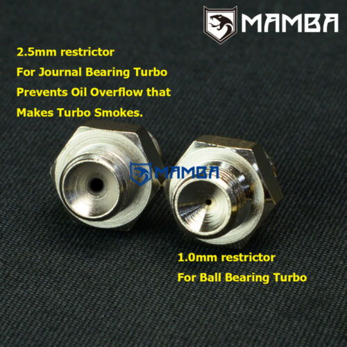 Turbo Oil Feed Return Line For HONDA D15 D16 w// Precision PTE 5858 6262 USA