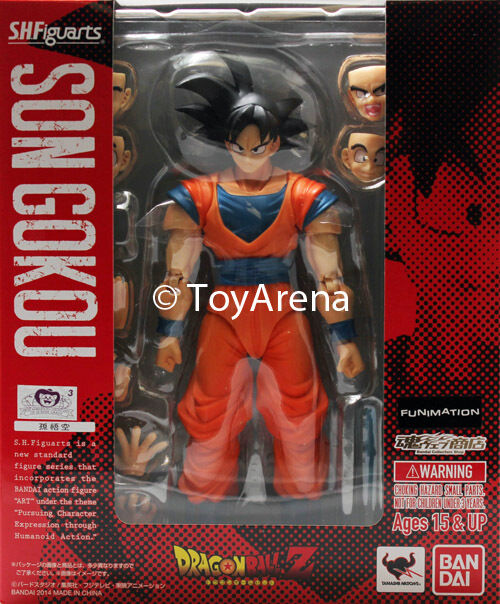 S.H. Figuarts Dragonball Z Normal Ver 2014 Son Goku Gokou Action Figure USA