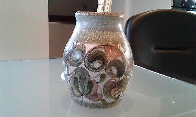 Vintage Mcm Denby Glynbourne 7 Vase