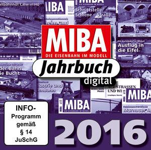 MIBA Jahrbuch 2016 - Ein Jahr MIBA auf einen Klick
