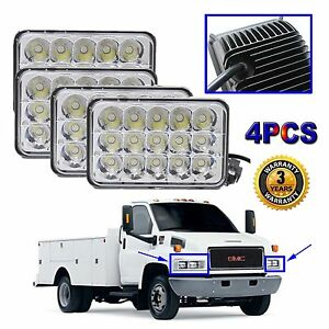 cree led sealed beam headlight bulb for gmc c4500 c5500. Black Bedroom Furniture Sets. Home Design Ideas