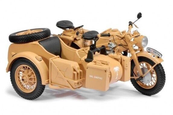 Schuco 1 10 German Zundapp KS750M Motorcycle with Sidecar - DAK,