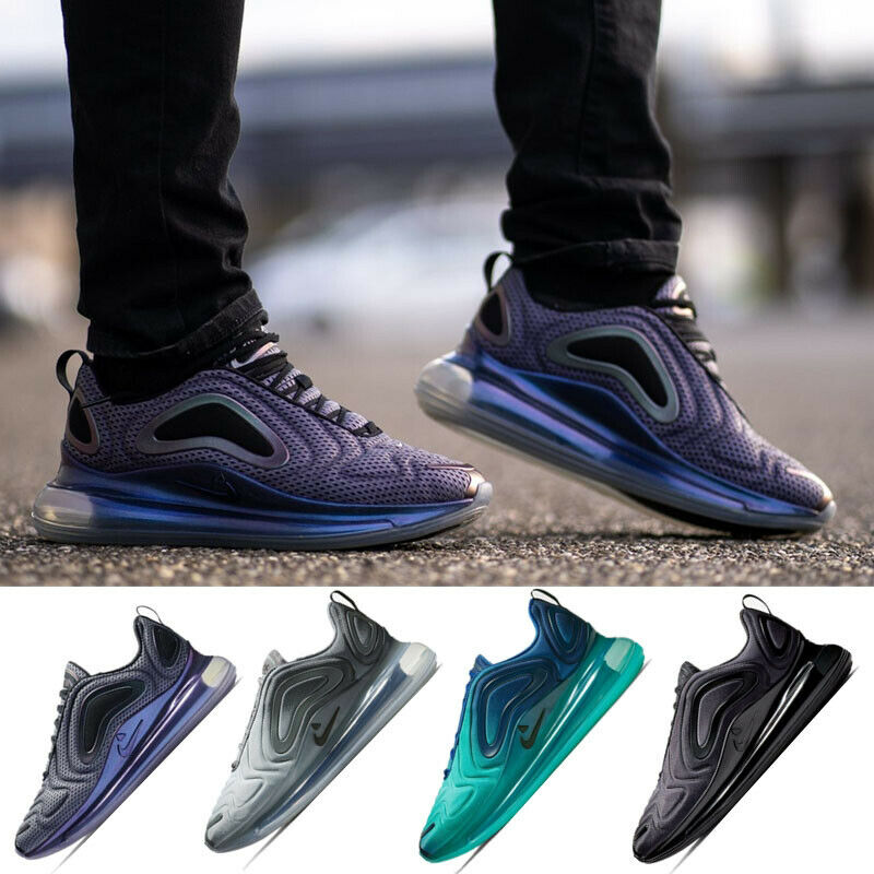 NEW Mens Air Max 720 Running Sports shoes Breathable Athletic Platform Sneakers