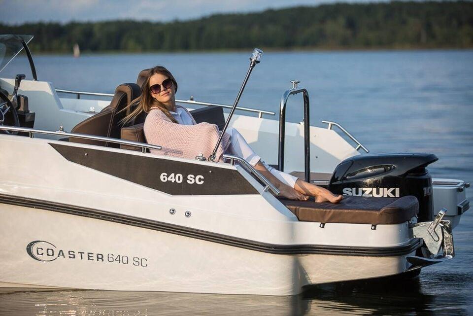 Coaster 640 SC m/Yamaha F115 og udstyr, Motorbåd, årg. 2021