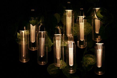 10 DEL énergie solaire Vintage Edison Ampoule String Jardin Fée Lumières double fonction