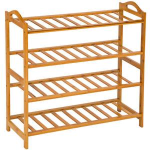 Etagere-a-chaussures-en-bois-bambou-placard-meuble-de-rangement-chausser-4etages