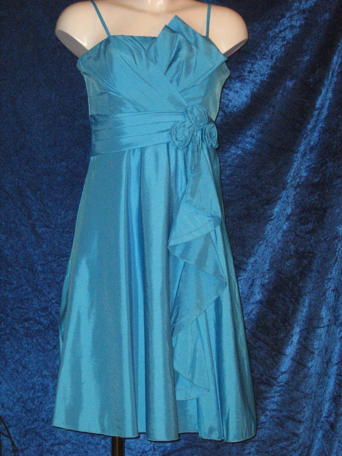 Sandri Line - Cocktail-Kleid - blau - Gr. 34