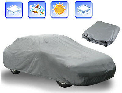 4M LONG SMALL SIZE FULL CAR COVER UNIVERSAL WATERPROOF UV OUTDOOR INDOOR PROTECT