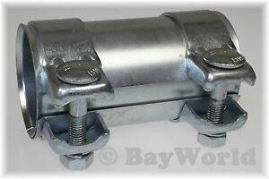 1 St. Auspuff Universal Rohrverbinder 70 x 74,5 x 125mm Doppelschelle 70x125mm